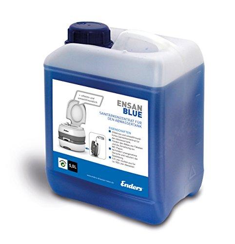 enders 5018 ensan blue 5 liter abwasserzusatz - Enders 5018 Ensan Blue 5 Liter Abwasserzusatz